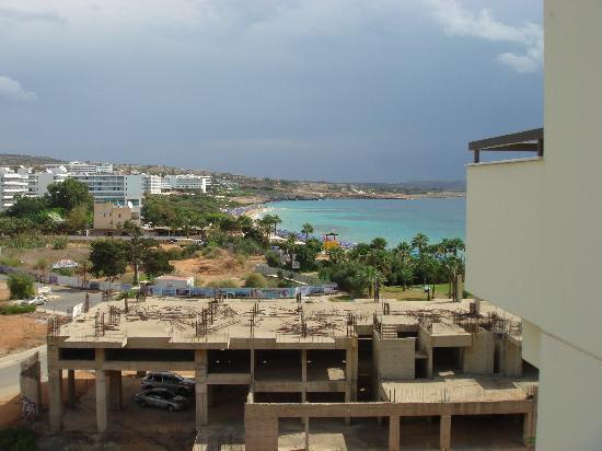 Nelia Beach Hotel: Veiw from my hotel room.