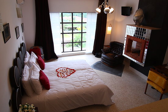 Domaine Malika : a part of the room