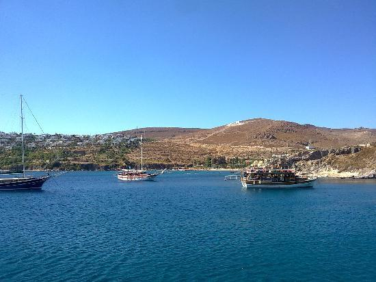 Golden Age Crystal Bodrum: picture taken from our boat trip