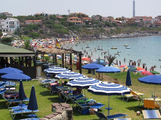 Portoscuso, İtalya: sul mare di Portopaglietto