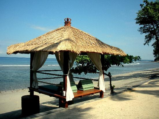 Jeeva Klui Resort : ocean side lounge
