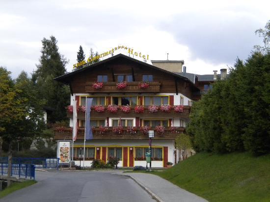Aktivhotel Zum Gourmet: Hotelansicht von der Anfahrt