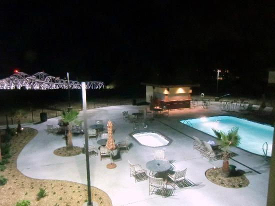 Hotel Vue : Blick auf den Pool