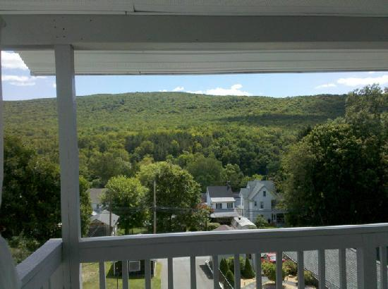Jim Thorpe, PA: View from the deck