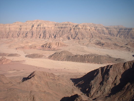Eilat, Israel: A view from Mt.Timna