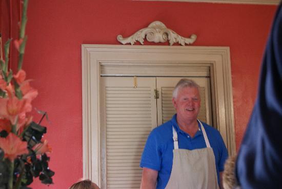 The Barnwell Inn: amazing chef