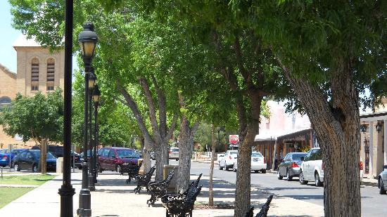 Las Cruces, NM: Plaza In Historic Mesilla NM