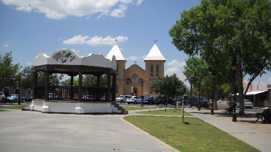 Las Cruces, NM: Mesilla town Square