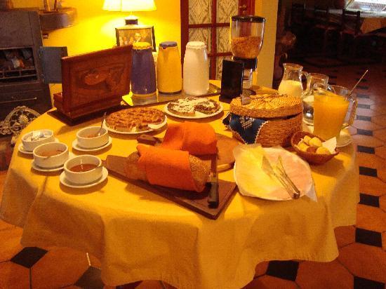 San Lorenzo, Argentina: Desayuno