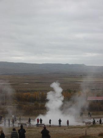 Reykjavík, Island: Strokur geysir