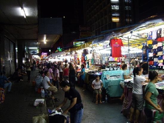 Patpong Night Market : パッポン通り