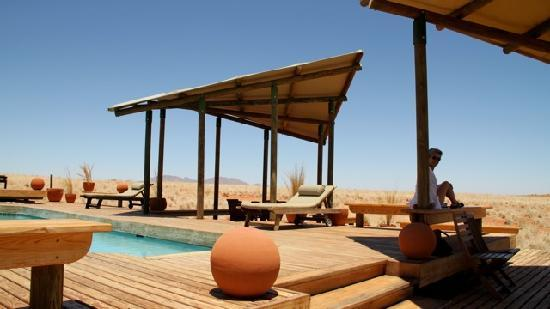 Wolwedans Dunes Lodge: the pool