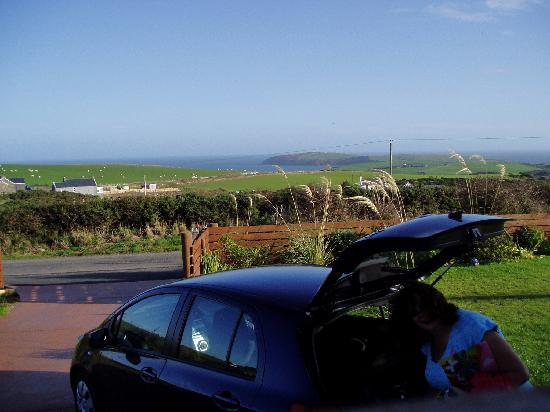 Mull of Galloway Holidays: View from B&B