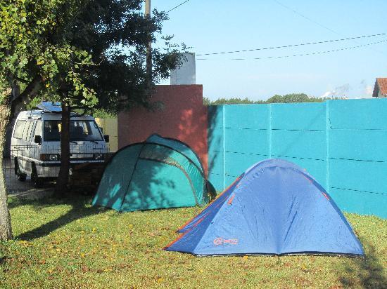 Careca Surfcamp: Unterkunft in Zelten