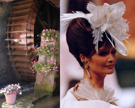 Orges, France : Moulin et Haute Couture