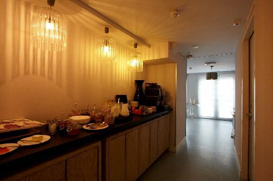 Stadsvilla Hotel Mozaic Den Haag : Breakfast