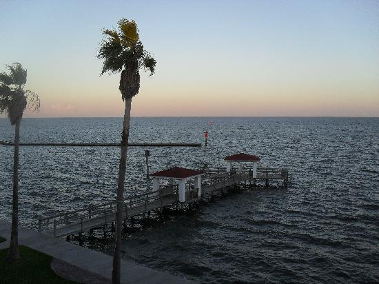 Rockport, TX: Sunset on bay