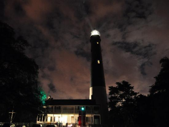 Pensacola Lighthouse and Museum: The Cloudy Sense of Foreboding