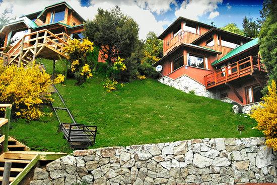 Apart Hotel Cabanas Balcon al Lago: En Llao Llao, Bariloche, Patagonia Argentina