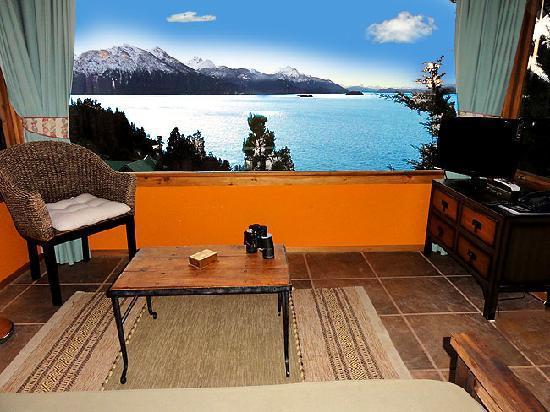 Apart Hotel Cabanas Balcon al Lago: Vista Panoramica al Lago