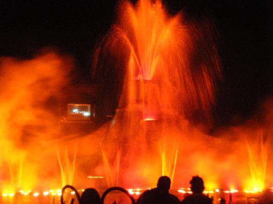 Protaras, Chipre: Not so magic dancing waters!