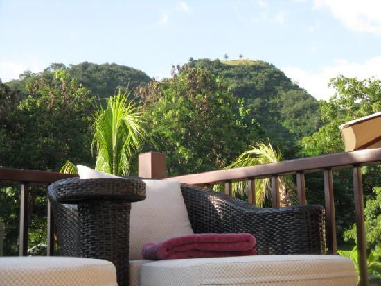 Buccament Bay Resort : View from deck plunge pool