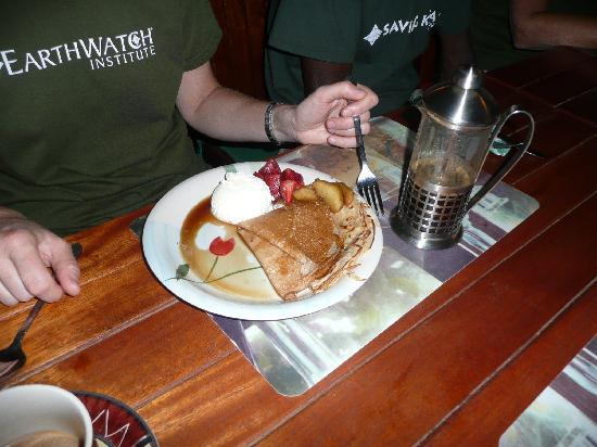 The Eatery : Pancake and coffee