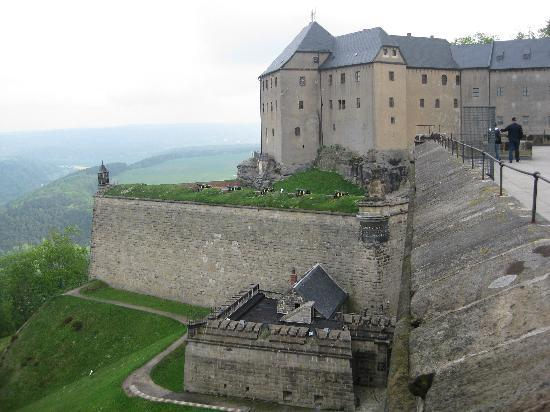 Bad Schandau, Duitsland: Festung Königstein sächsische Schweiz