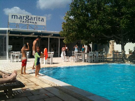 Margarita Studios The Pool And Taverna All In One