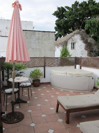 La Villa Marbella - Charming Hotel: Private terrace with hot tub!