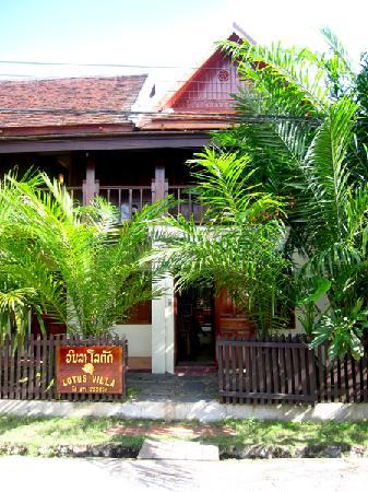 Lotus Villa Boutique Hotel : Lotus Villa Laos