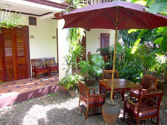 Lotus Villa Boutique Hotel : Little garden