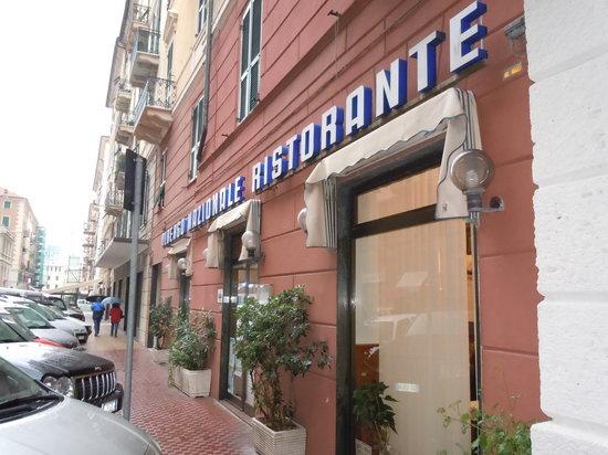 Ristorante Albergo Nazionale : Il ristorante nel pieno centro di Savona