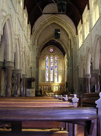 Hamilton, Bermuda: Inside of the Trinity Cathedral