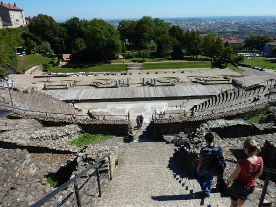 Theatres Romains de Fourviere: View from the top