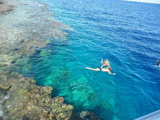 Maritim Jolie Ville Royal Peninsula Hotel & Resort: Private beach snorkeling area