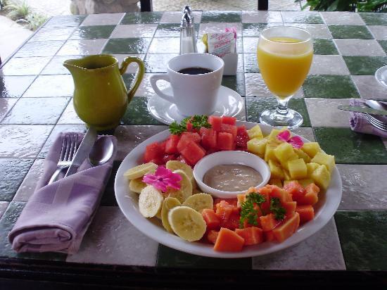 Anton Valley Hotel: Los desayunos de Clarissa