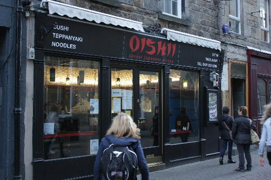Oishii Scotland Casual Japanese Dining: Shop front