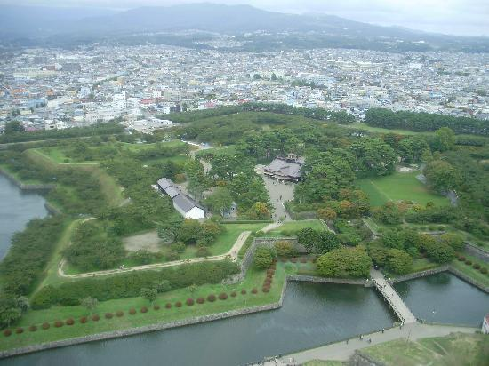 Hakodate, Japón: View from Goryokaku Tower