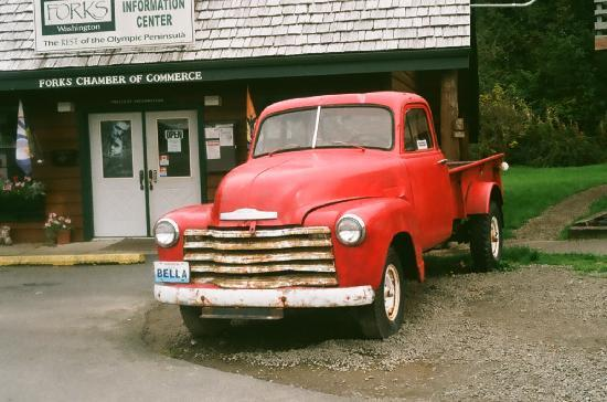 Forks, Waszyngton: Bella's truck(from the books)