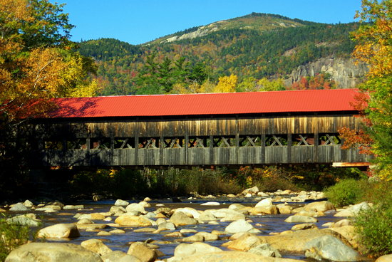 Conway, NH: Albany bridge