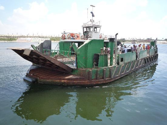Ferry, Suez Canal, Ismailia