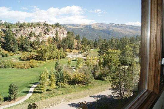 The Lodge at Tamarron : veiw from my window