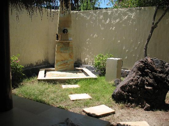 alam Batu: Openair Dusche