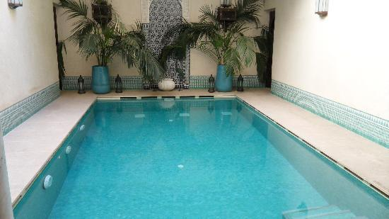 Riad Kniza: La piscine