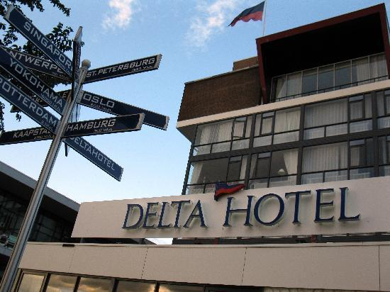 Delta Hotel Rotterdam: Everywhere leads to Delta ;-)