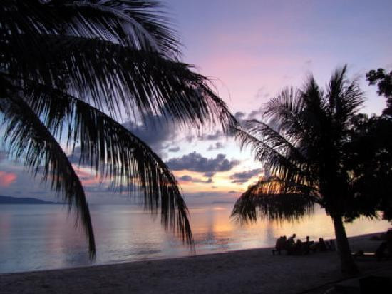 Sarikantang Resort & Spa: sunset