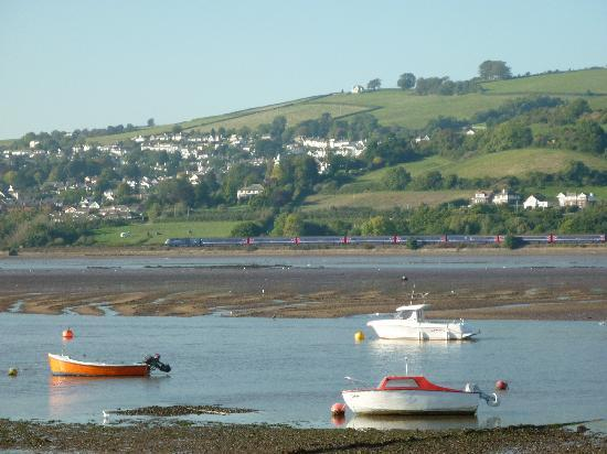 Shaldon, UK: View across the river