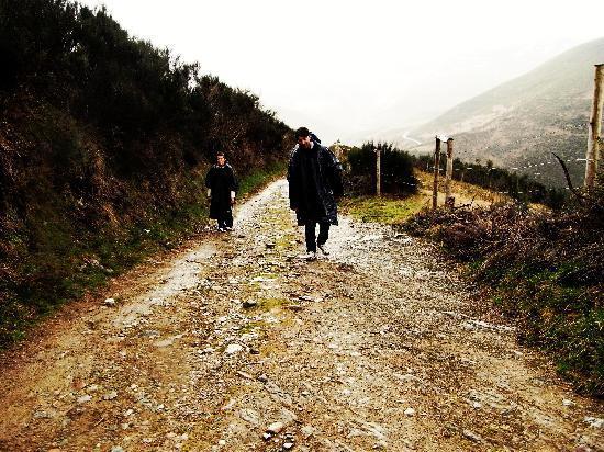 Galicia, Espanha: camino de santiago, o cebreiro