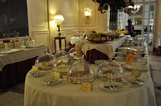 Grand Hotel Sitea : Buffet du petit déjeuner